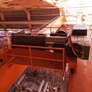 A 32 Tonne Explosion Proof Overhead Crane – Arian Methanol Company – Winter 2021